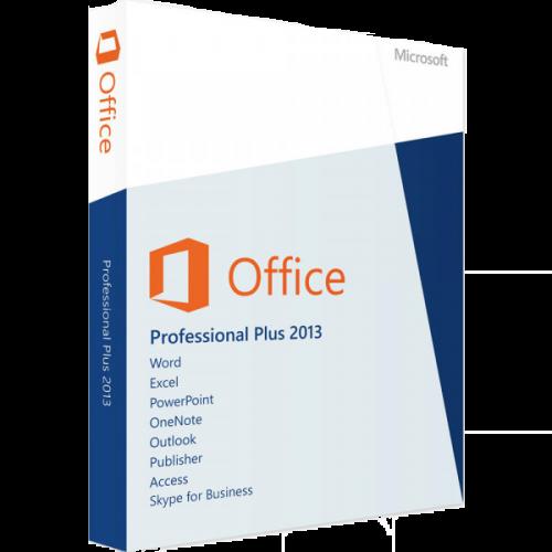 Microsoft Office 2013 PROFESSIONAL PLUS 1 PC