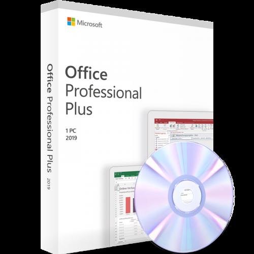 Microsoft Office 2019 Professional Plus 1PC inkl. DVD