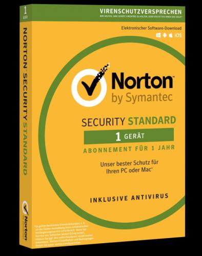 Symantec Norton Security 3.0 Standard - 1 Gerät, 1 Jahr - Download Lizenz