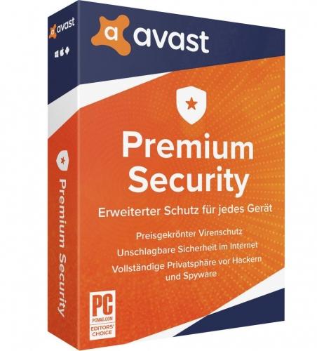 Avast Premium Security 2021 (1 PC / 1 Jahr)