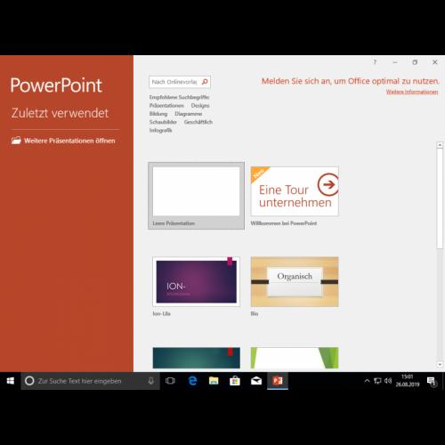 Microsoft Office 2019 Professional 1PC Download Lizenz