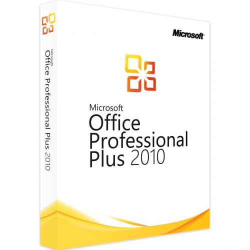 Microsoft Office 2010 PROFESSIONAL PLUS 1 PC